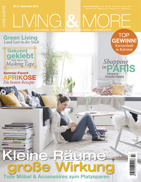 Zeitschrift Living And More cairo produktinspirationen in der zeitschrift living more